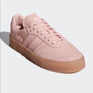 ADIDAS Samba Rose Icey Pink/Gum Size 9